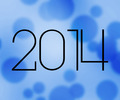 2014 New Year Blue Image - PhotoDune Item for Sale