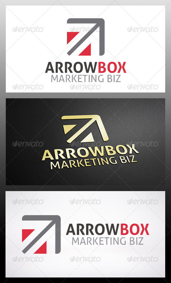 GraphicRiver Arrow Box Logo 6199617
