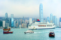 Hong Kong harbor and ferry - PhotoDune Item for Sale
