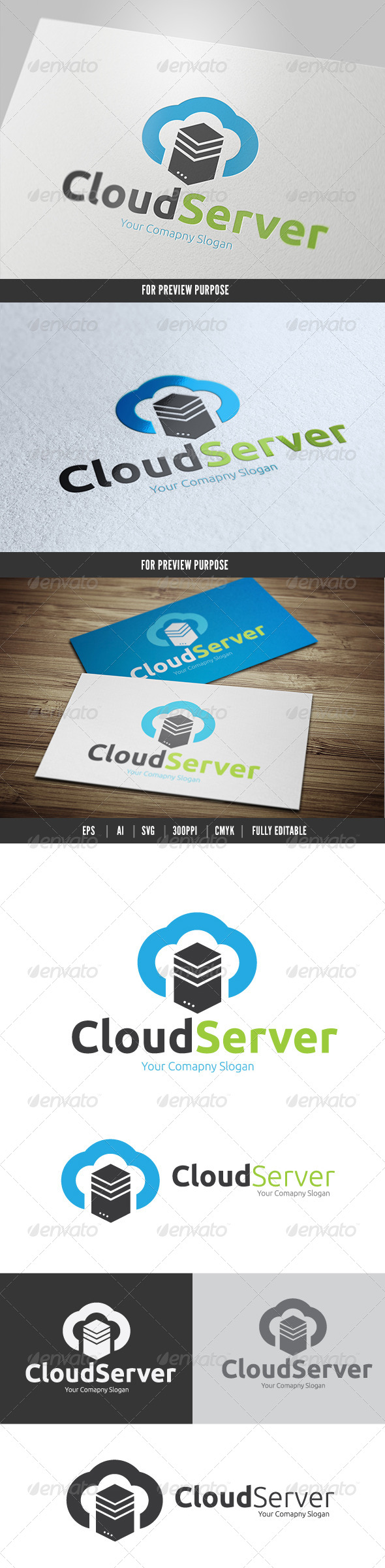 GraphicRiver Cloud Server 6200154