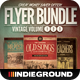Vintage Flyer/Poster Bundle Vol. 1-3 - GraphicRiver Item for Sale