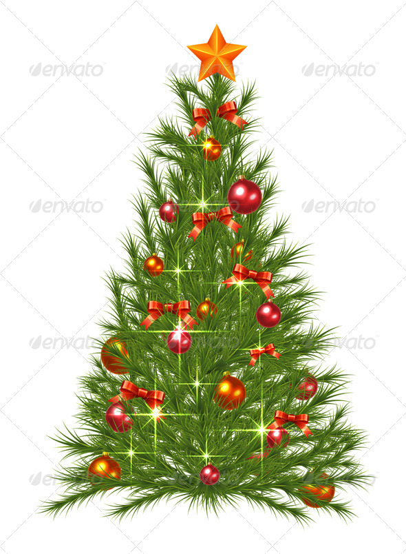 GraphicRiver Christmas Tree 6200716