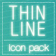 Trendy Thin Line Icons Pack - GraphicRiver Item for Sale