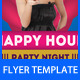 Party Flyer Template 12 - GraphicRiver Item for Sale