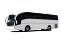 Tour Bus isolated on a white background - PhotoDune Item for Sale