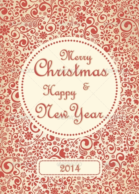 GraphicRiver Merry Christmas Card 6201678