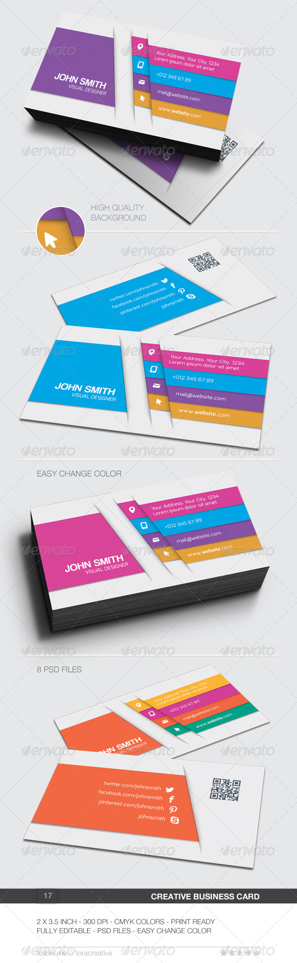 GraphicRiver Creative Business Card 17 6202019