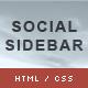 CSS3 Social Sidebar (Navigation and Menus) Download