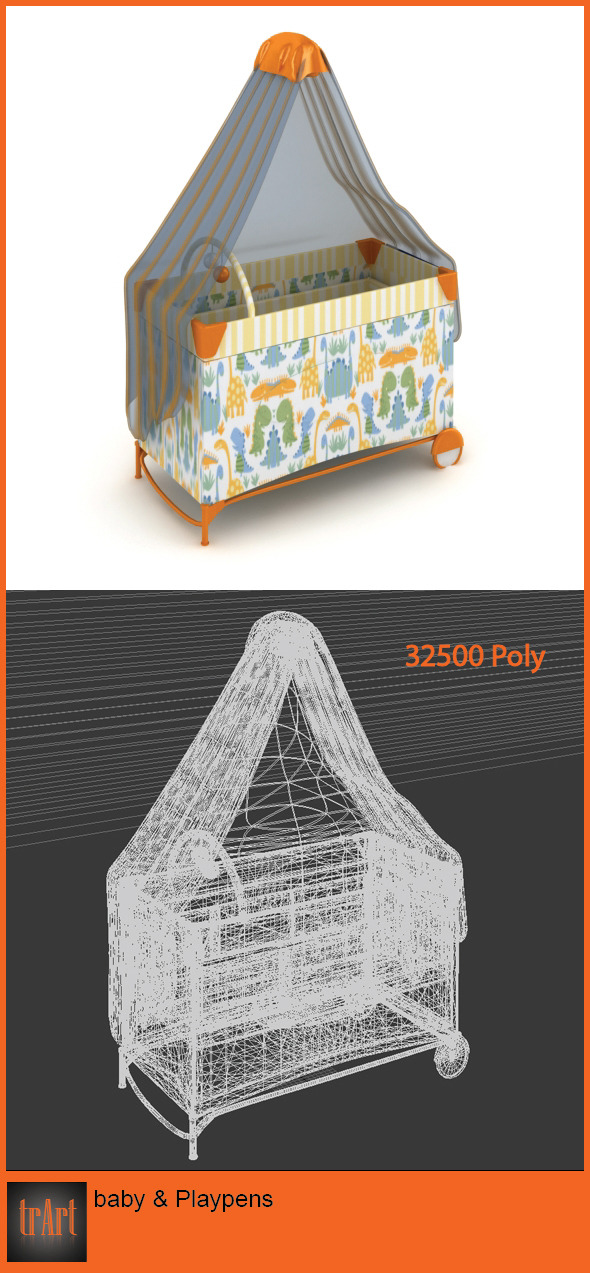 3DOcean Baby Playpens 6202720