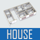 3d Illustration of a House - GraphicRiver Item for Sale