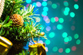 Christmas decoration and Beautiful Bokeh - PhotoDune Item for Sale