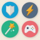 35 Cartoon Game UI Icons - GraphicRiver Item for Sale
