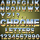 Chrome Letters - GraphicRiver Item for Sale
