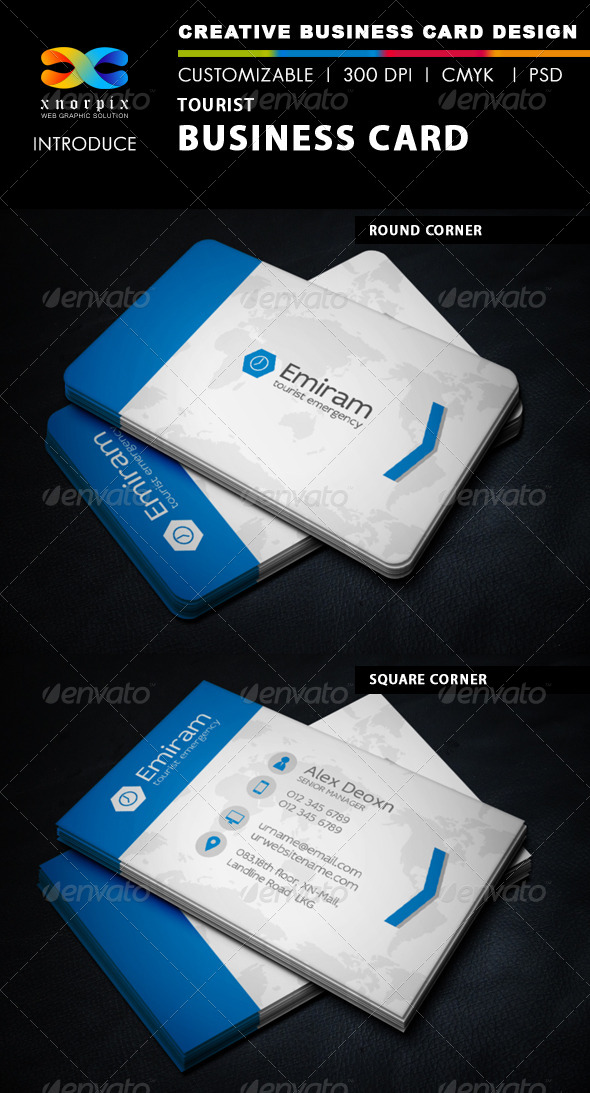 GraphicRiver Tourist Business Card 6204824