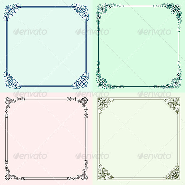 GraphicRiver Decorative Frames 6204940
