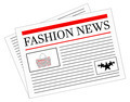 Fashion News Newspaper - PhotoDune Item for Sale