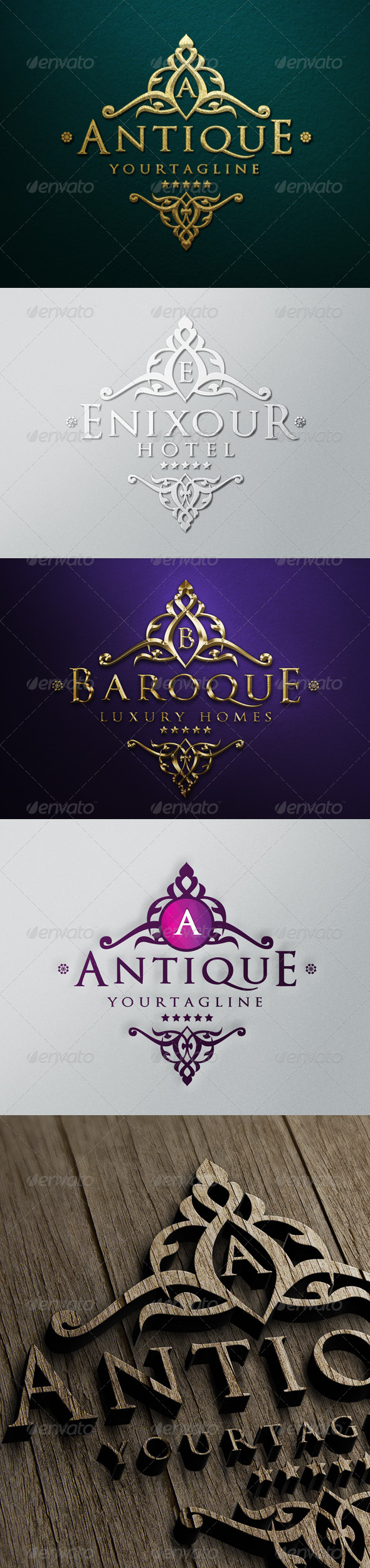 GraphicRiver Antique Luxury Logo 6205248
