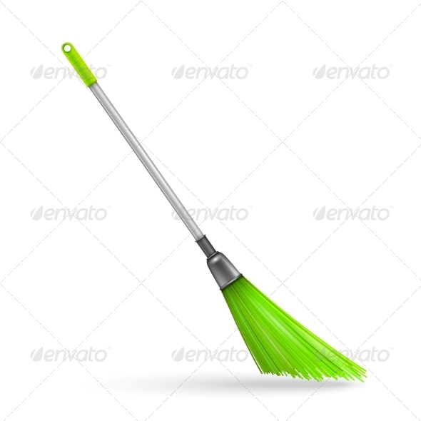 GraphicRiver Plastic Garden Broom 6205890