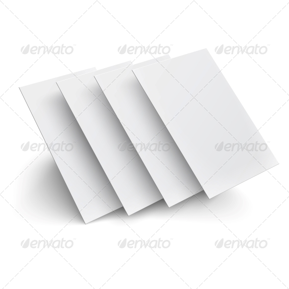 GraphicRiver Hovering Blank Pages 6205966