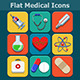Medical Flat Color Icons Set - GraphicRiver Item for Sale