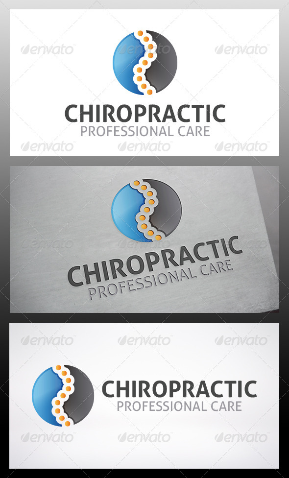 GraphicRiver Chiropractic Logo 6206965