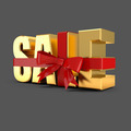 Holiday sale 3d word - PhotoDune Item for Sale