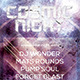 Party & Nightclub Flyer: Cosmic Nights - GraphicRiver Item for Sale