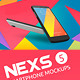 Nexs 5 Smartphone Mockups - GraphicRiver Item for Sale
