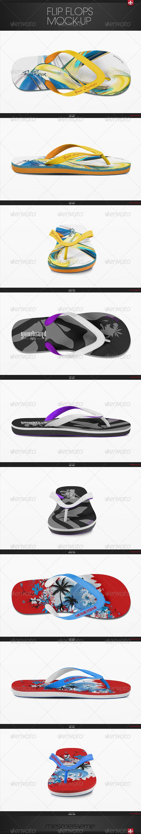 GraphicRiver Flip Flops Mock-Up 6208781