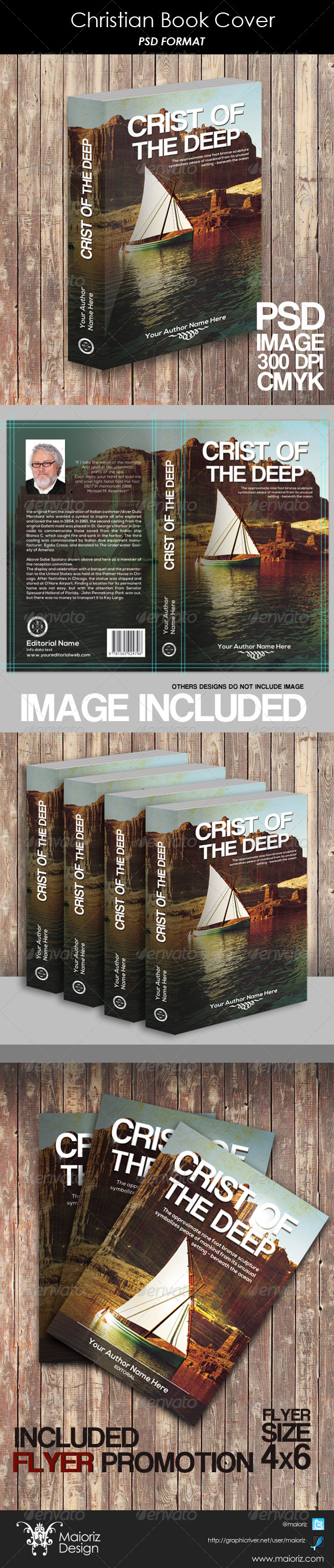 GraphicRiver Christian Book Cover 6208831
