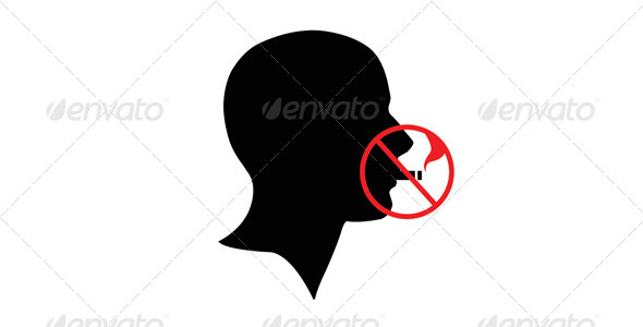 GraphicRiver Stop Smoking Head 6208990