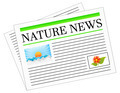 Nature News Newspaper - PhotoDune Item for Sale