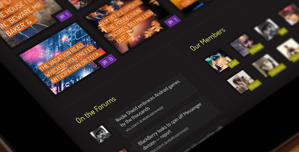 ThemeForest Xphoria BuddyPress Theme 6142548