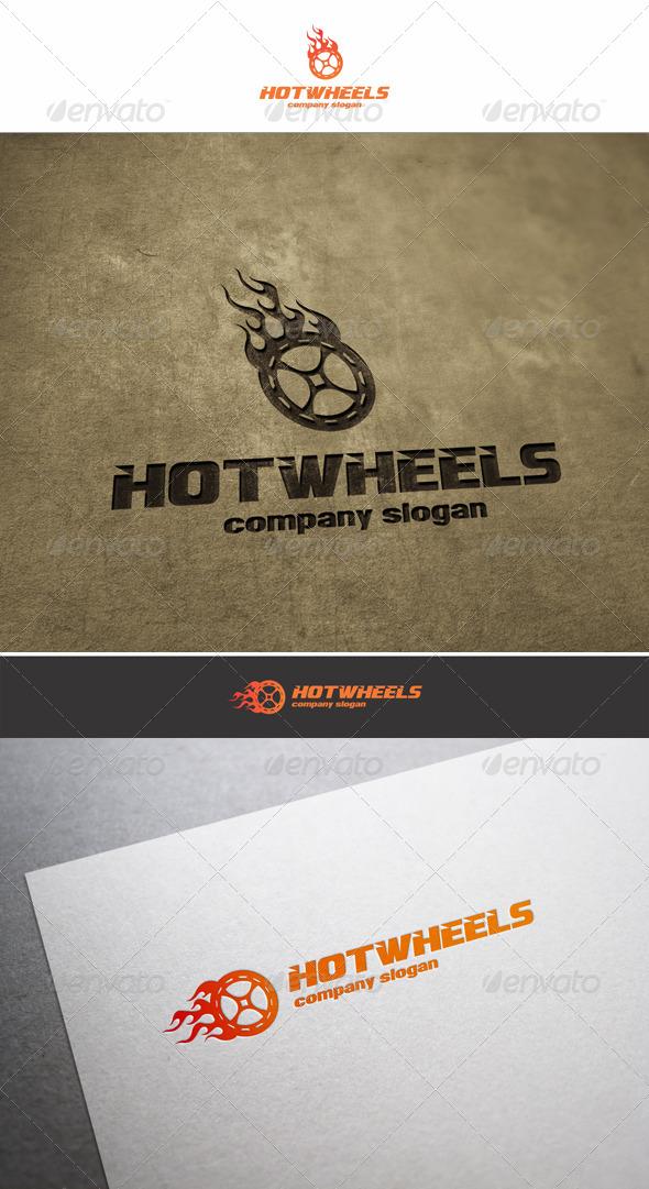 GraphicRiver Hot Wheels Auto Logo 6209399