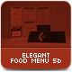Elegant Food Menu 5 - GraphicRiver Item for Sale