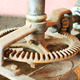 Old rusty cogwheel for wine making machine. - PhotoDune Item for Sale