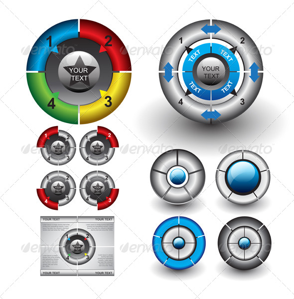 GraphicRiver Circle Diagrams 6198617