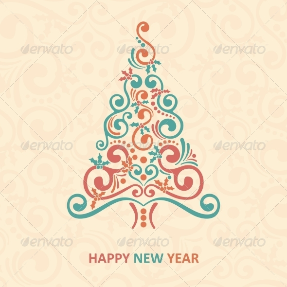 GraphicRiver Merry Christmas Card 6210389
