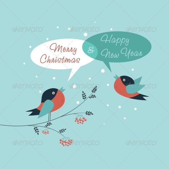 GraphicRiver Merry Christmas Card 6210558