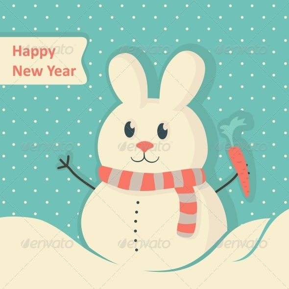 GraphicRiver New Year Card 6210616