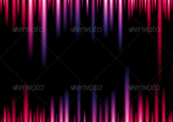 GraphicRiver Vibrant Vector Lights Abstract Background 6210627