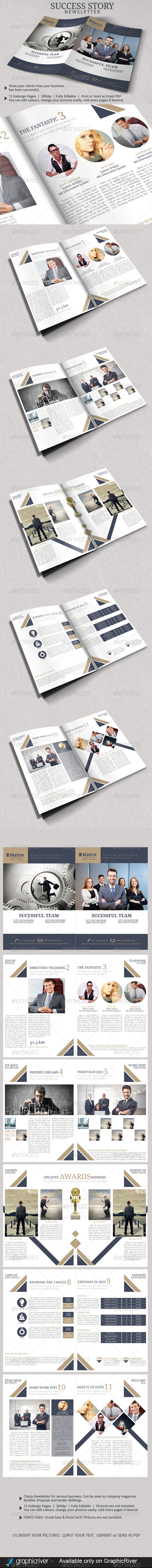 GraphicRiver Success Business Newsletter 6210687