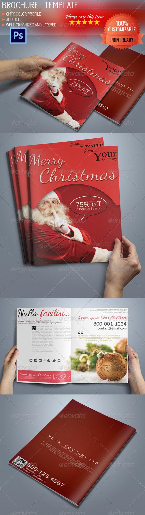 GraphicRiver A5 Christmas Brochure 6209788