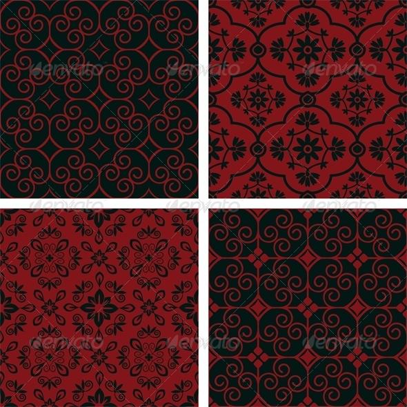 GraphicRiver Patterns Set 6211045