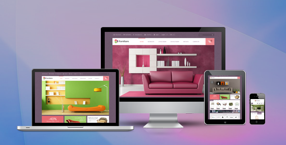 Pav Furniture Responsive Opencart Theme
