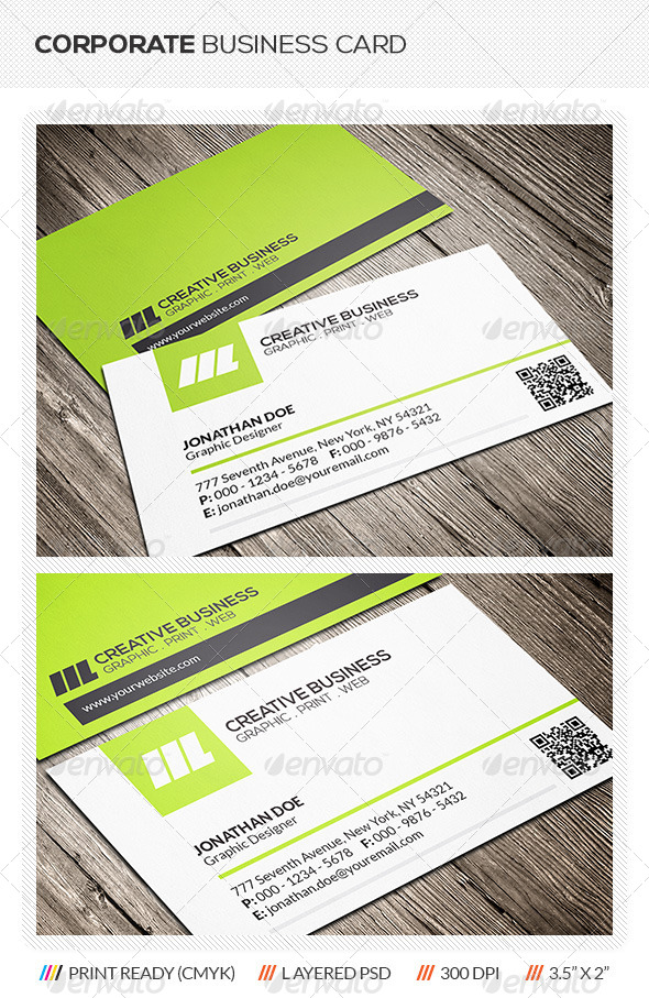 GraphicRiver Modern Business Card 6212153