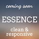 Essence - Bootstrap Coming Soon Template - ThemeForest Item for Sale