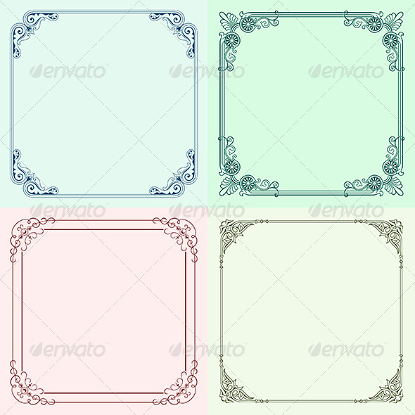 GraphicRiver Decorative Frames 6212708