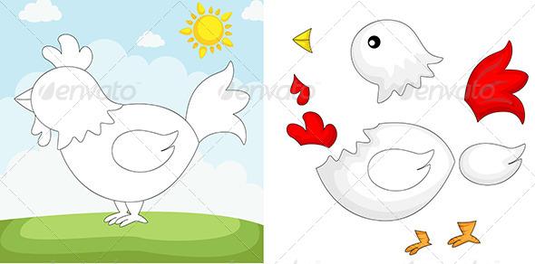 GraphicRiver Chicken Puzzle 6212756