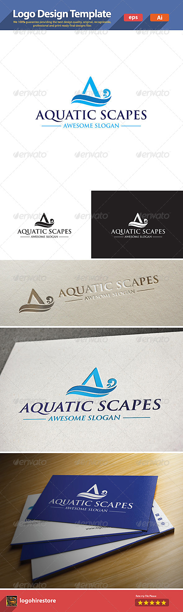 GraphicRiver Aquatic Scapes 6210791